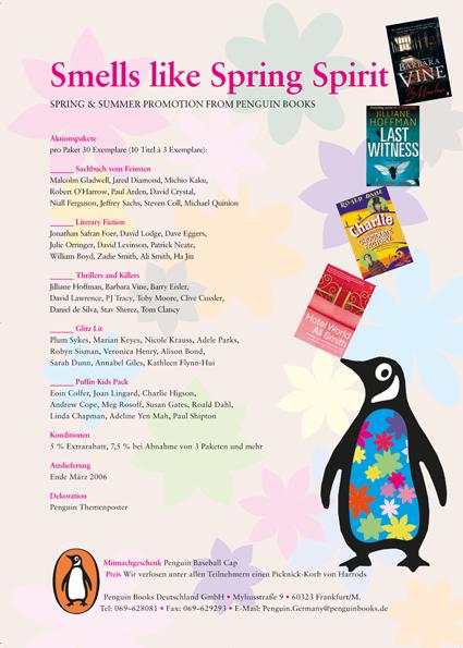 Anzeige für Penguin Books im Börsenblatt des deutschen Buchhandels