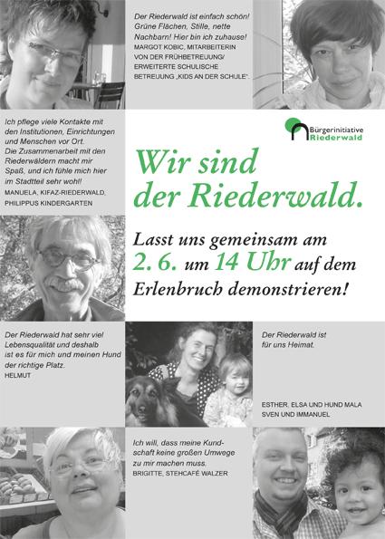 Bürgerinitiative Faltblatt