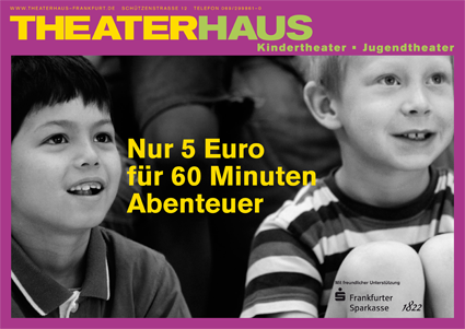 Imagekampagne Theaterhaus Plakat 1