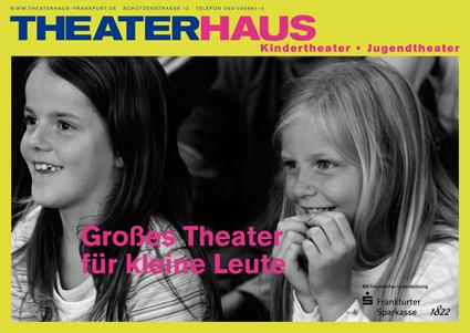 Imagekampagne Theaterhaus Plakat 2