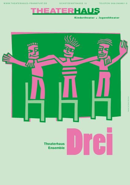 Plakat Drei 1