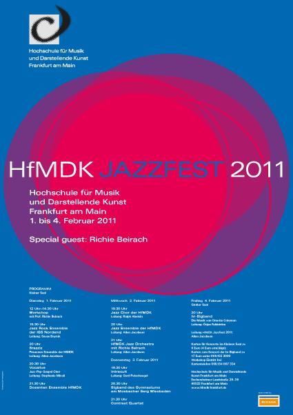 Plakat JazzFest 2011
