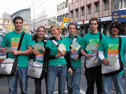 Promotionteam Kampagne VGF 2003